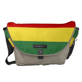 ボリビアの旗 メッセンジャーバッグ