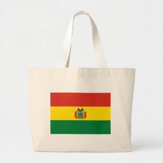 ボリビアの旗 ラージトートバッグ