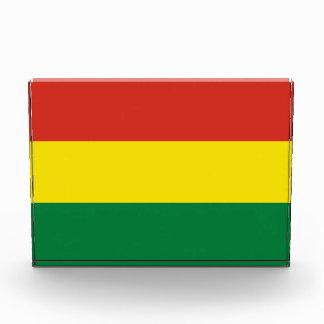 ボリビアの旗 表彰盾