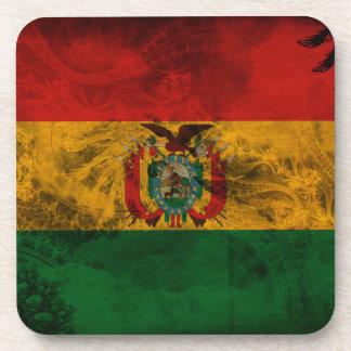 ボリビアの旗 飲み物コースター