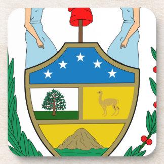 ボリビアの紋章付き外衣 コースター
