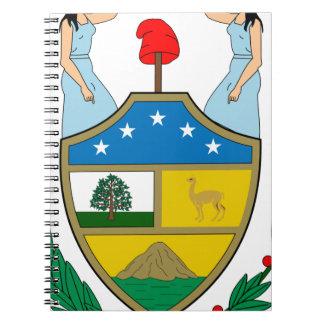ボリビアの紋章付き外衣 ノートブック