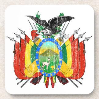 ボリビアの紋章付き外衣 ビバレッジコースター