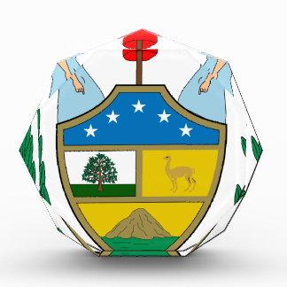 ボリビアの紋章付き外衣 表彰盾