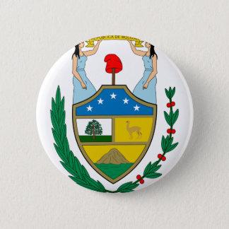 ボリビアの紋章付き外衣 5.7CM 丸型バッジ
