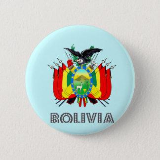 ボリビアの紋章 5.7CM 丸型バッジ
