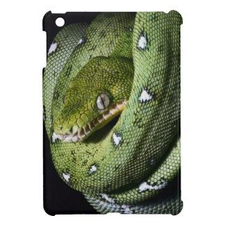 ボリビアの緑の木のヘビのエメラルドのボア iPad MINI カバー