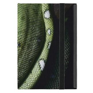 ボリビアの緑の木のヘビのエメラルドのボア iPad MINI ケース