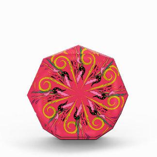 ボリビアのethnoの曼荼羅の芸術。 元のスケッチ 表彰盾