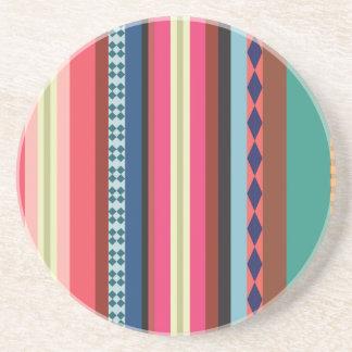 ボリビアパターン コースター