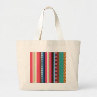 ボリビアパターン ラージトートバッグ