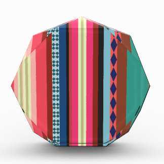 ボリビアパターン 表彰盾