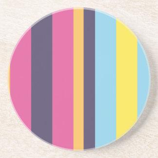 ボリビア人は縞で飾ります ビバレッジコースター