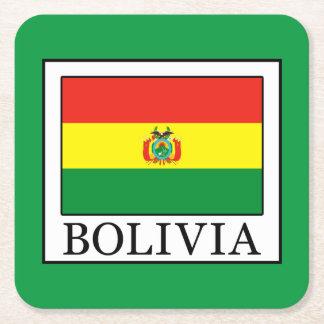 ボリビア スクエアペーパーコースター