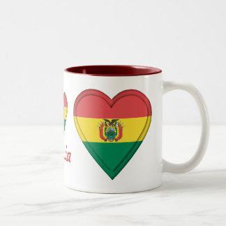 ボリビア ツートーンマグカップ
