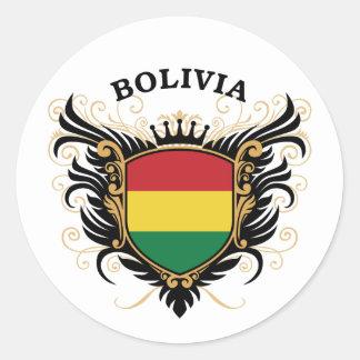 ボリビア ラウンドシール