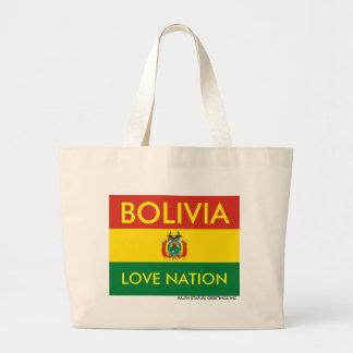 ボリビア ラージトートバッグ