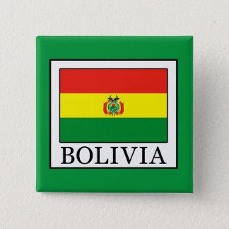 ボリビア 5.1CM 正方形バッジ