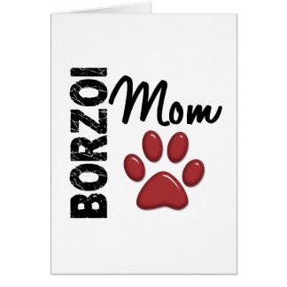 ボルゾイのお母さん2 カード