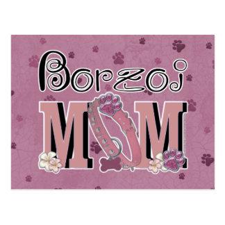 ボルゾイのお母さん ポストカード