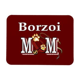 ボルゾイのお母さん マグネット