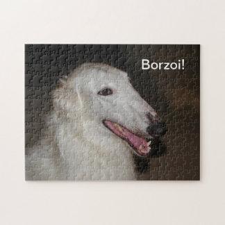 ボルゾイのパズル ジグソーパズル