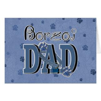 ボルゾイのパパ カード