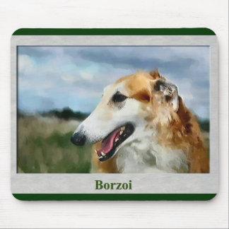 ボルゾイの芸術のギフト マウスパッド