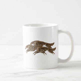ボルゾイの跳躍 コーヒーマグカップ