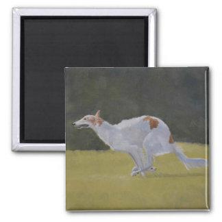 ボルゾイ犬の芸術の磁石 マグネット