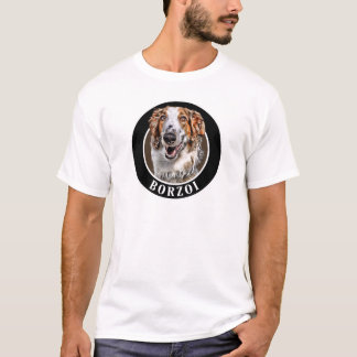 ボルゾイ犬002 Tシャツ