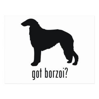 ボルゾイ ポストカード