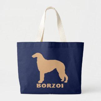 ボルゾイ ラージトートバッグ
