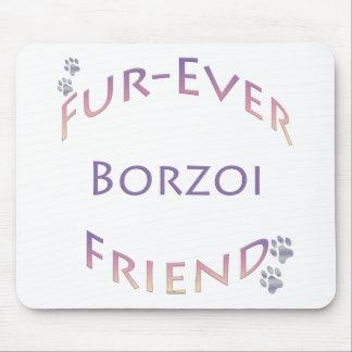 ボルゾイFurever マウスパッド