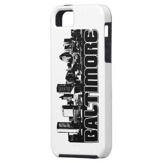ボルティモアのスカイライン iPhone SE/5/5s ケース