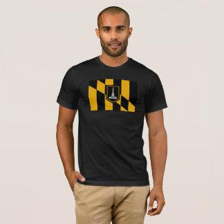ボルティモアの市の役員の旗のティー Tシャツ
