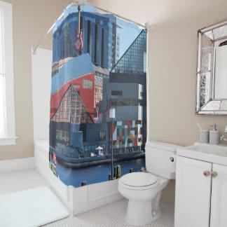 ボルティモア内部港のシャワー・カーテン シャワーカーテン