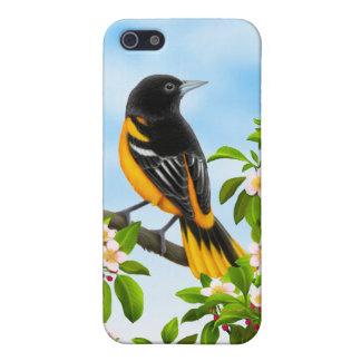 ボルティモア・オリオールズ鳥のSpeckのカスタマイズ可能な場合 iPhone SE/5/5sケース
