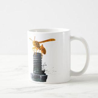 ボルトの黄色スズメバチ コーヒーマグカップ