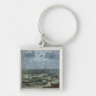 ボルドー1874年の港 キーホルダー