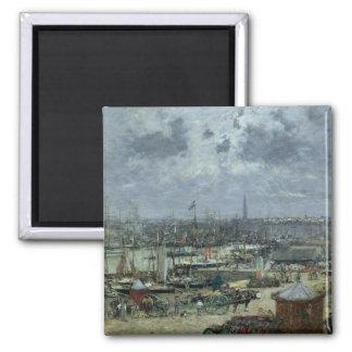 ボルドー1874年の港 マグネット