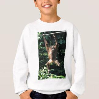 ボロネオのオランウータン スウェットシャツ