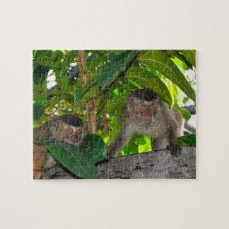 ボロネオの雨林の猿 ジグソーパズル