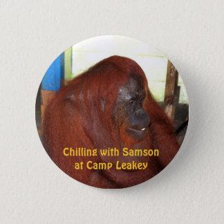 ボロネオのSamson 5.7cm 丸型バッジ