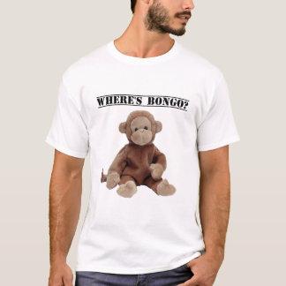 ボンゴが猿のTシャツあるところ Tシャツ