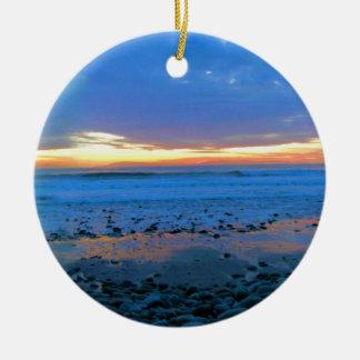 ボンゴのビーチの2012の1月22日、オーナメント 陶器製丸型オーナメント