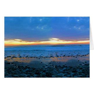 ボンゴのビーチの2012の1月22日、カード グリーティングカード