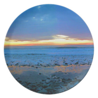 ボンゴのビーチの2012の1月22日、プレート 皿