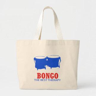 ボンゴのミュージカルのデザイン ラージトートバッグ