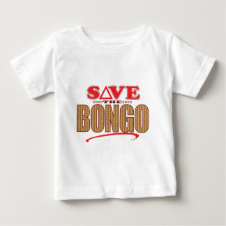 ボンゴの保存 ベビーTシャツ